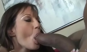 Busty Grey woman helter-skelter Amateur Interracial Video 14