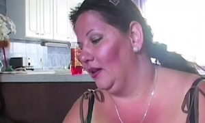 Fat mature fucking the greatest monumental tits